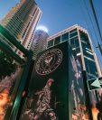 Este miércoles se conoció el nombre del nuevo equipo de la MLS, el Inter Miami, propiedad del exfutbolista David Beckham. (Foto Prensa Libre: Twitter @InterMiamiCF)