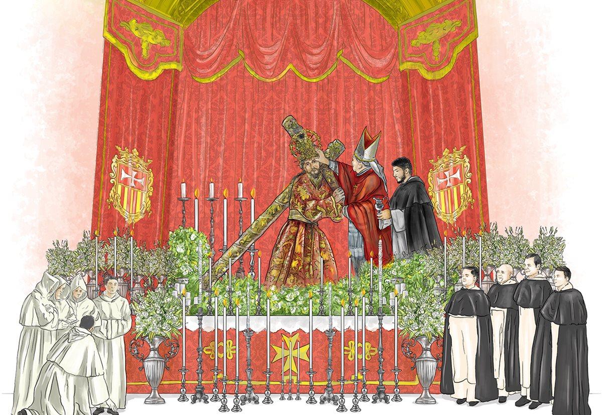 Júbilo por tricentenario de consagración de Jesús de la Merced