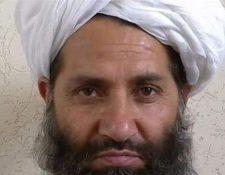 Haibatullah Akhunzada dejó a un lado la guerra santa para pedir se planten árboles en Afganistán.(AFP).