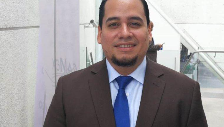 Julián Salinas, viceministro de Comercio de El Salvador, dijo que la unión aduanera con el Triángulo Norte facilitará los negocios con México. (Foto Prensa Libre: Urías Gamarro)