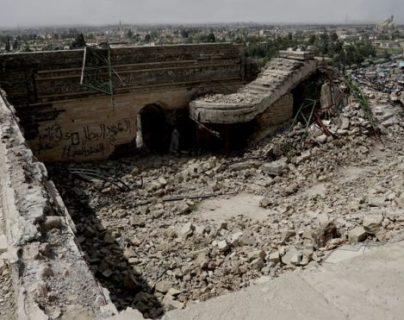 Nabi Yunus quedó reducido a escombros tras la detonación por parte del Estado Islámico.