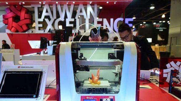 Las impresoras 3D son algunos de los productos que fabrica Kinpo. (Foto Prensa Libre: GETTY IMAGES)