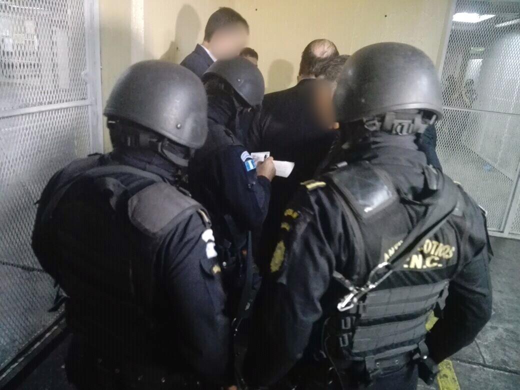 Los ejecutivos llegaron este viernes por la mañana, procedentes de México, Nicaragua y EE. UU. (Foto Prensa Libre: PNC)