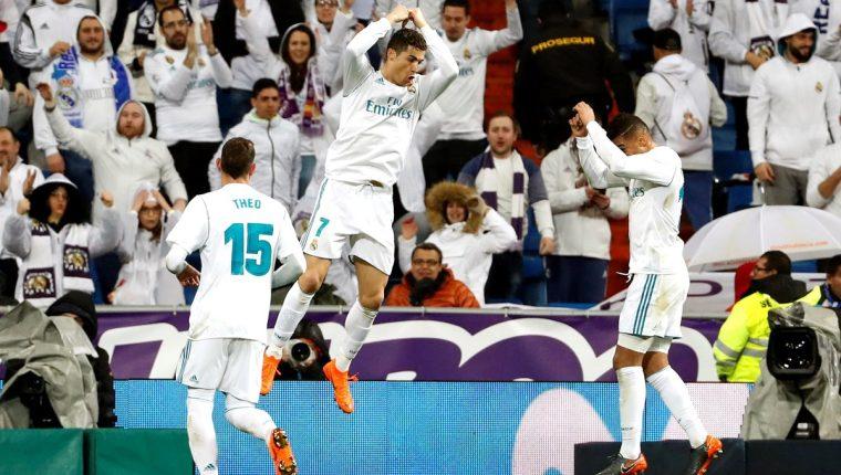 Cristiano Ronaldo marcó un doblete ante el Getafe. (Prensa Libre: EFE)