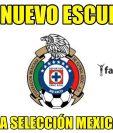 El escudo del equipo mexicano del Cruz Azul, se convirtió en el nuevo de la selección mexicana. (Foto Prensa Libre: Twitter: Fan10)