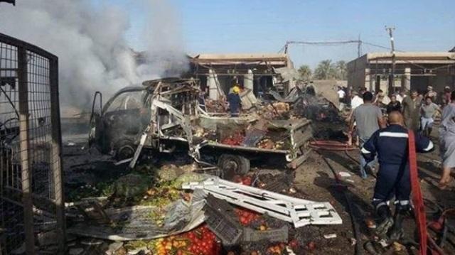 Mueren 11 personas en atentado en mercado de Bagdad
