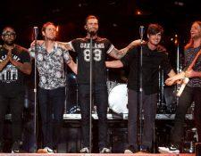 Maroon 5 será el entretenimiento artístico del próximo Super Bowl (Foto Prensa Libre: AFP).