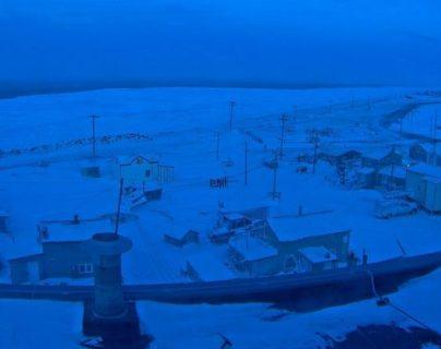 Los poco más de cuatro mil residentes de Utqia?vik (Alaska, Estados Unidos) pasarán alrededor de dos meses sin ver la luz del sol. UNIVERSITY OF ALASKA FAIRBANKS