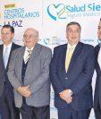 DIRECTIVOS DE Banco Industrial y Centros Hospitalarios La Paz inauguran en Quetzaltenango el sexto complejo dedicado al cuidado integral de la salud.
