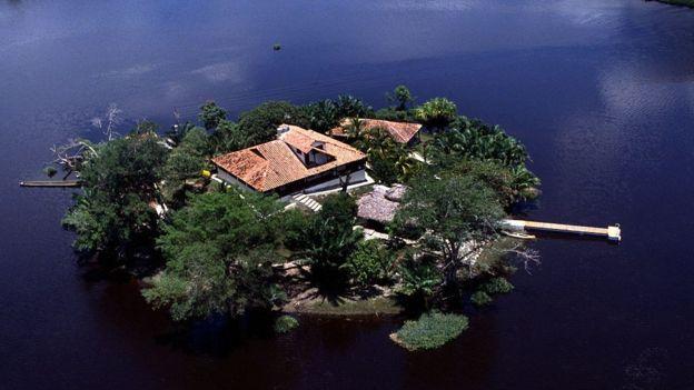 Las propiedades de Rodríguez Gacha llamaron la atención de las autoridades colombianas en los 80. GETTY IMAGES