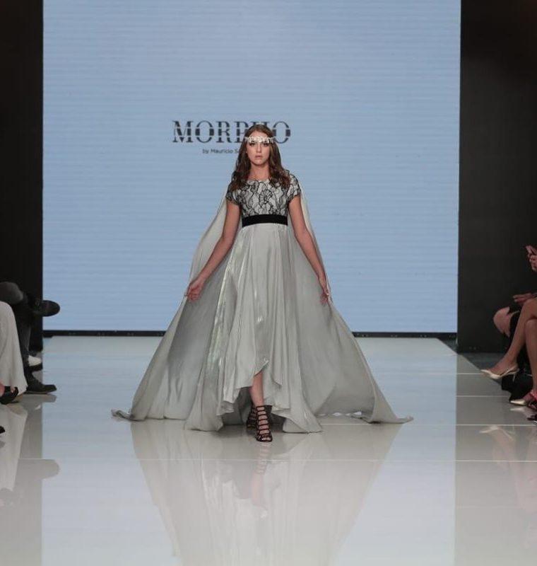 ¿El gris para una boda? Por qué no. Mauricio Samayoa demuestra que es un color impactante. (Foto Prensa Libre: Juan Diego González).
