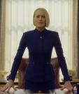 """Robin Wright, Claire Underwood en """"House of Cards"""", habló sobre su antiguo coprotagonista, Kevin Spacey (Foto Prensa Libre: Netflix)."""