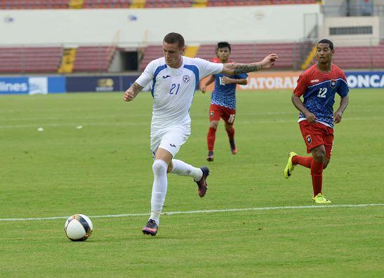 Jaime Moreno (21) decidió abandonar la selección de Nicaragua previo al partido amistoso contra Honduras. (Foto Prensa Libre: LaPrensa.com.ni)