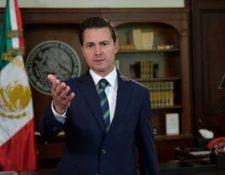 El presidente Enrique Peña respondió con fuerza a Donald Trump. REUTERS