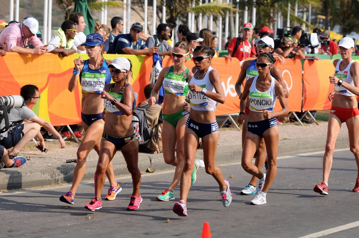 Mirna Ortiz finaliza en el puesto 30 en la marcha olímpica