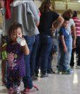 Una cuarta parte de inmigrantes retenidos fueron liberados por orden de un juez.(AFP).
