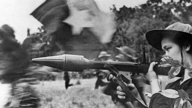 La ofensiva del Tet comenzó durante la tarde del 31 de enero 1968. GETTY IMAGES
