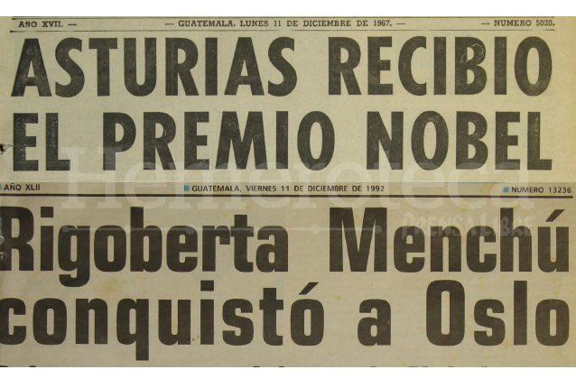 Estos titulares tienen 25 años de diferencia, pero la distinción los une. (Foto: Hemeroteca PL)