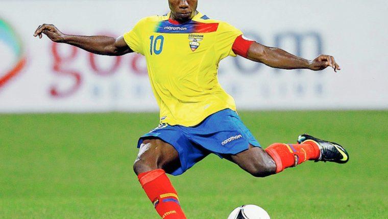 Ayoví cargará con la responsabilidad de liderar a Ecuador en el grupo A en la Copa América. (Foto Prensa Libre. AFP)