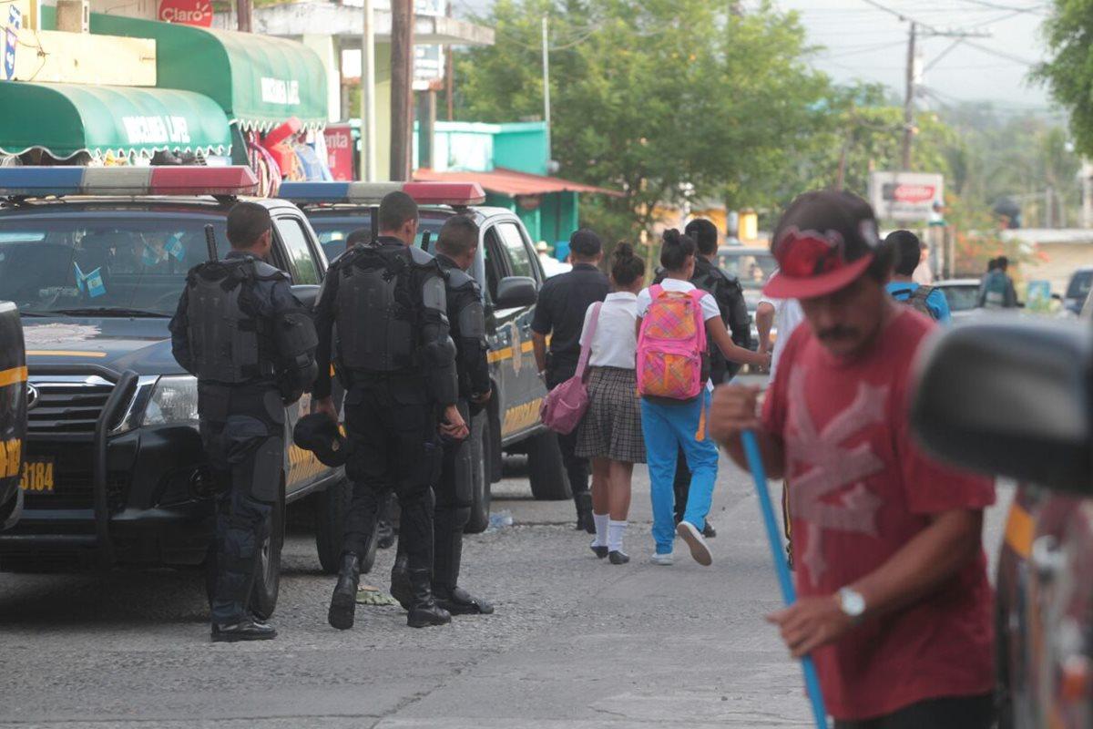 PNC retoma el control en San José del Golfo