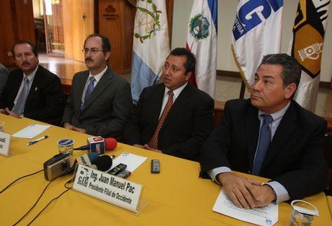 La Cámara de la Industria Guatemalteca, reiteró su petición al gobierno de ofrecer mayor seguridad a la población.  (Foto Prensa Libre: Mynor Toc)