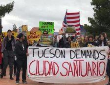Las políticas de Donald Trump contra las ciudades santuario han causado varias protestas. (Foto: Hemeroteca PL)