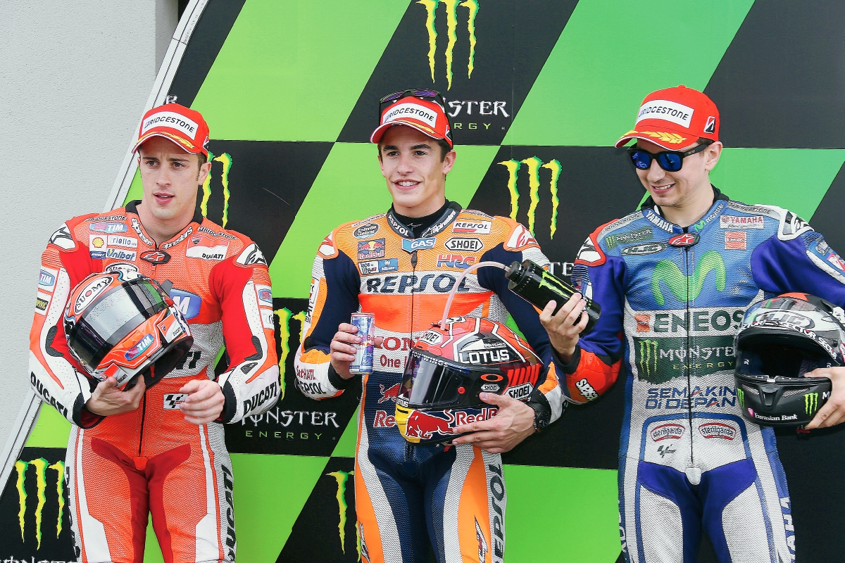 Márquez ocupará la pole en el GP de Francia