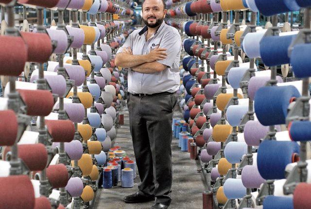 Antonio Malouf es presidente de una textilera que opera en Villa Nueva, la cual fabrica tela para la confección de prendas de vestir y emplea a 150 personas.