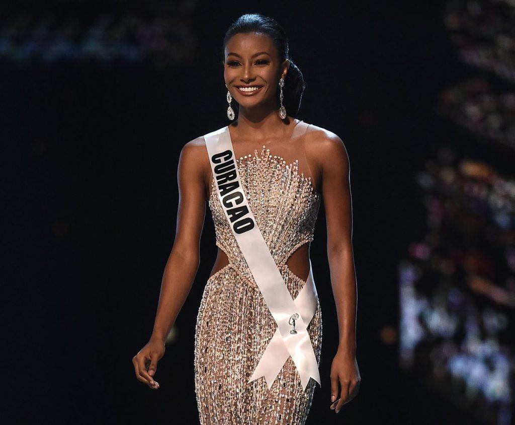 Akisha Albert de Curacao estuvo dentro de las 10 finalistas
