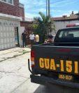 El ataque ocurrió en la 5a avenida 2-03 zona 13, Rivera del Río, San Miguel Petapa (Foto Prensa Libre: Paulo Raquec).