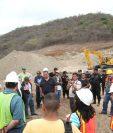 Desde el 2012 pobladores de San José del Golfo, protestaban contra el proyecto de la mina El Tambor. (Foto, Prensa Libre: Hemeroteca PL).