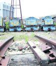 Los vagones antiguos de Ferrocarriles de Guatemala serán restaurados. (Foto Prensa Libre: Hemeroteca PL)