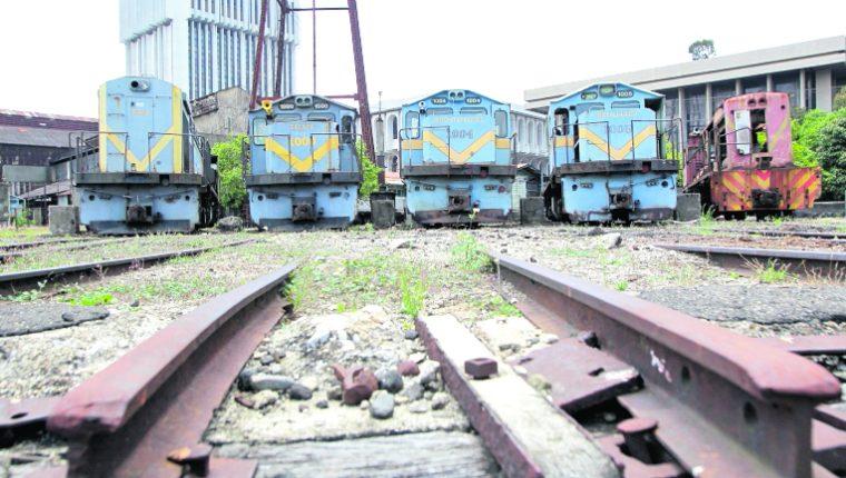 Los tanques antiguos de Ferrocarriles de Guatemala serán restaurados. (Foto Prensa Libre: Hemeroteca PL)