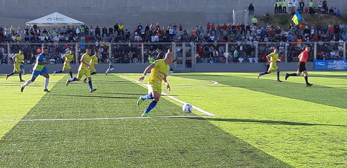 Cobán Imperial superó a domicilio 0-1 a Deportivo Mixco. (Foto Prensa Libre: Redes)