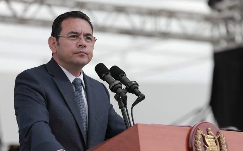 El presidente Jimmy Morales viajará a EE.UU., Honduras y El Salvador. (Foto Prensa Libre: Gobierno de Guatemala)