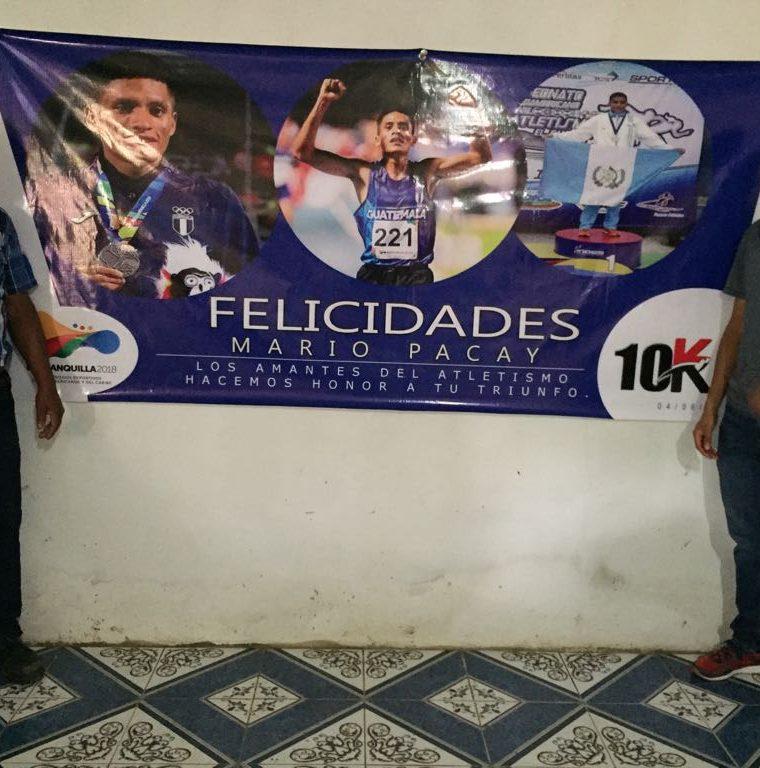 Mario Pacay fue uno de los atletas guatemaltecos más destacados en Barranquilla 2018. (Foto Prensa Libre: Cortesía La Red)