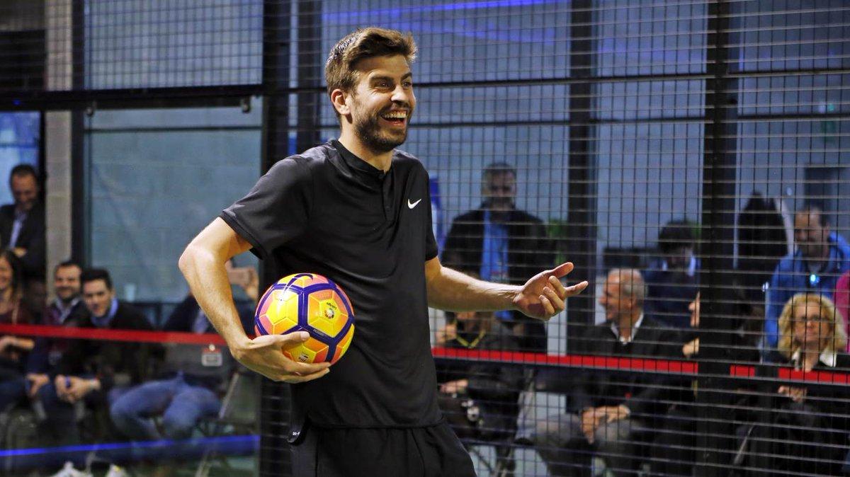 Gerard Pique hace un llamado a los aficionados barcelonistas para el juego contra el PSG. (Foto Prensa Libre: Barcelona.com)