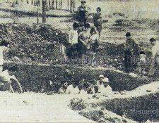Trabajos de excavación en el sitio arqueológico Kaminal Juyú. (Foto: Hemeroteca PL)