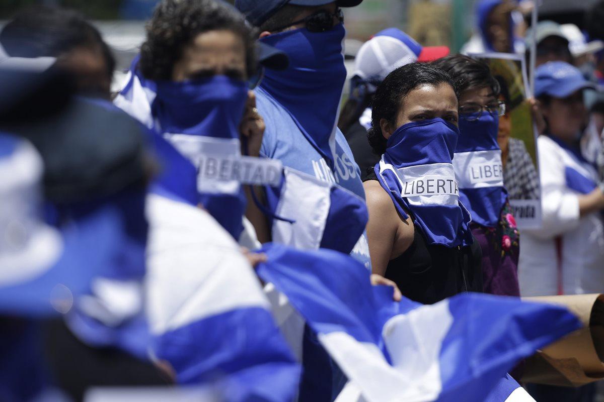 La misión de la ACNUDH estaba en Nicaragua desde junio pasado para conocer de la crisis sociopolítica. (Foto Prensa Libre: EFE)