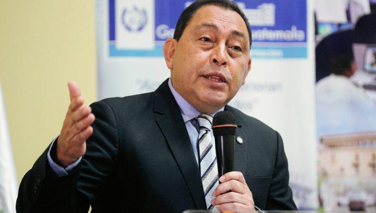 Mauricio López Bonilla, ministro de Gobernación dio a conocer que Juan Carlos Monzón Rojas, se encuentra en Honduras. (Foto Prensa Libre: Hemeroteca).