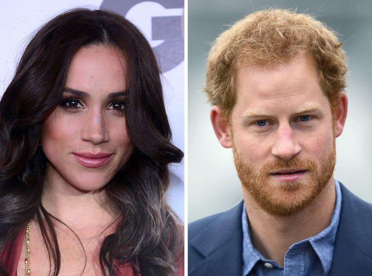 Meghan Markle, novia del príncipe Enrique, es fotografiada en Londres