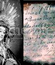 En el interior de la Virgen de Dolores del Calvario de Antigua fue encontrada una inscripción. (Foto: Hemeroteca PL)