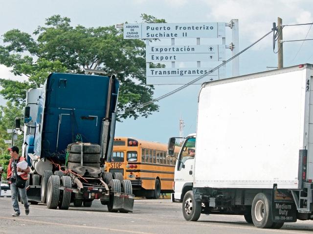 ¿Qué pasa en la aduana Tecún Umán?