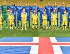 La selección islandesa de futbol fue una de las grandes sorpresas de la Eurocopa 2016. (Foto Prensa Libre: AFP)