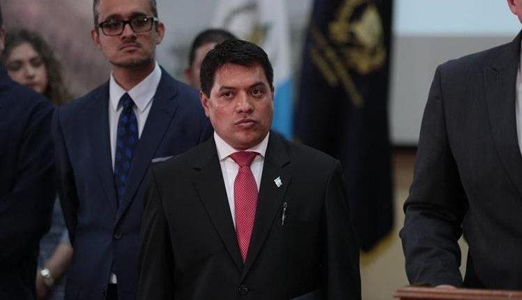 Kamilo Rivera fue viceministro de Gobernación por varios días luego de que se giró una orden de captura en su contra. Finalmente fue destituido. (Foto Prensa Libre: Hemeroteca PL)