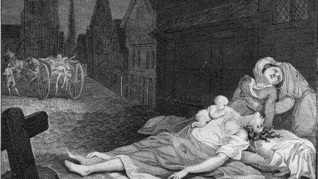 En la Edad Media a la peste se la conocía como la muerte negra y fue la mayor pandemia del s.XIV. GETTY IMAGES