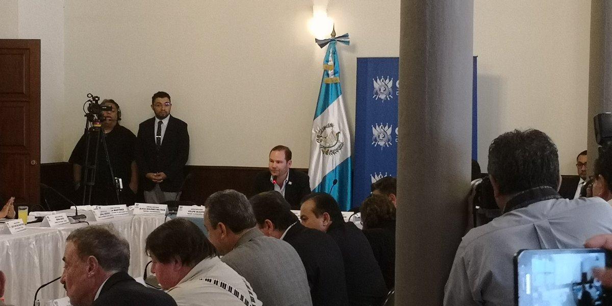 Congreso está listo para integrar la pesquisidora de Jimmy Morales