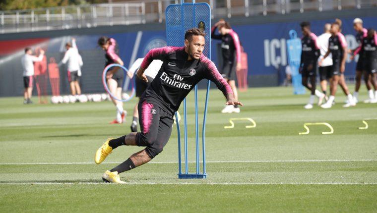 Neymar se guarda para enfrentar al Liverpool, en la Champions League. (Foto Prensa Libre: Twitter @@PSG_inside)