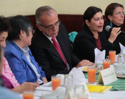 El comisionado del la Cicig fue invitado a la presentación de propuestas de evaluación que hicieron organizaciones para elegir al fiscal general del MP. (Foto Prensa Libre: Álvaro Interiano)