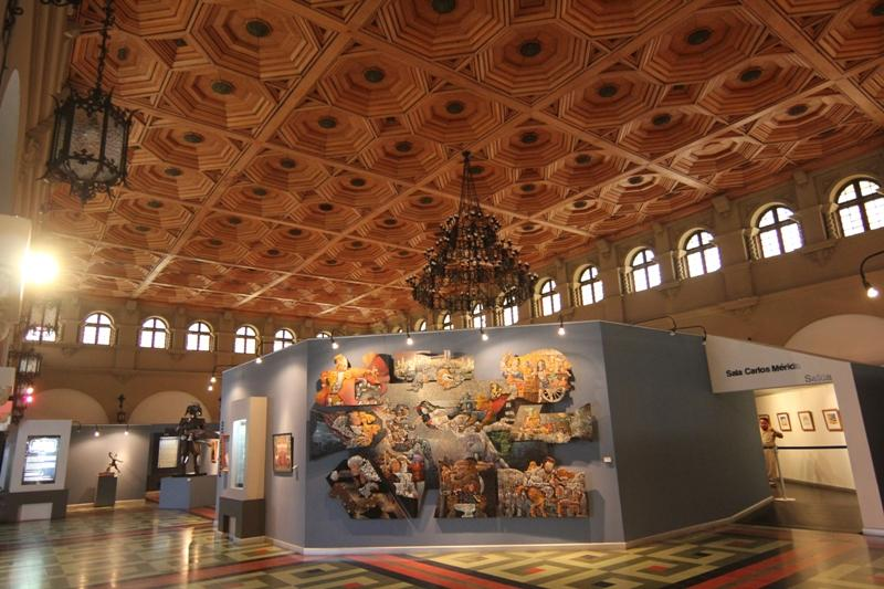 El Museo Nacional de Arte Moderno está entre los museos que podrá visitar gratuitamente el 18 de mayo. (Foto Prensa Libre: Ministerio de Cultura y Deportes).